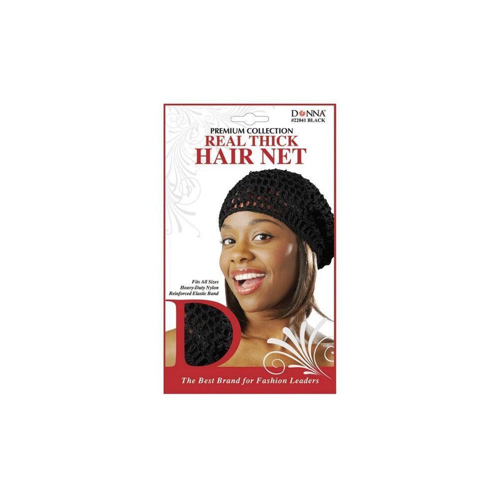 Upc 658302220413 Donna Real Thick Hair Net Black Upcitemdb Com