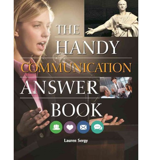Handy Communication Answer Book -  by Lauren Sergy (Paperback) - image 1 of 1