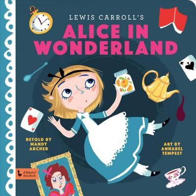 Alice in Wonderland - BRDBK (Babylit Storybook)(Hardcover)