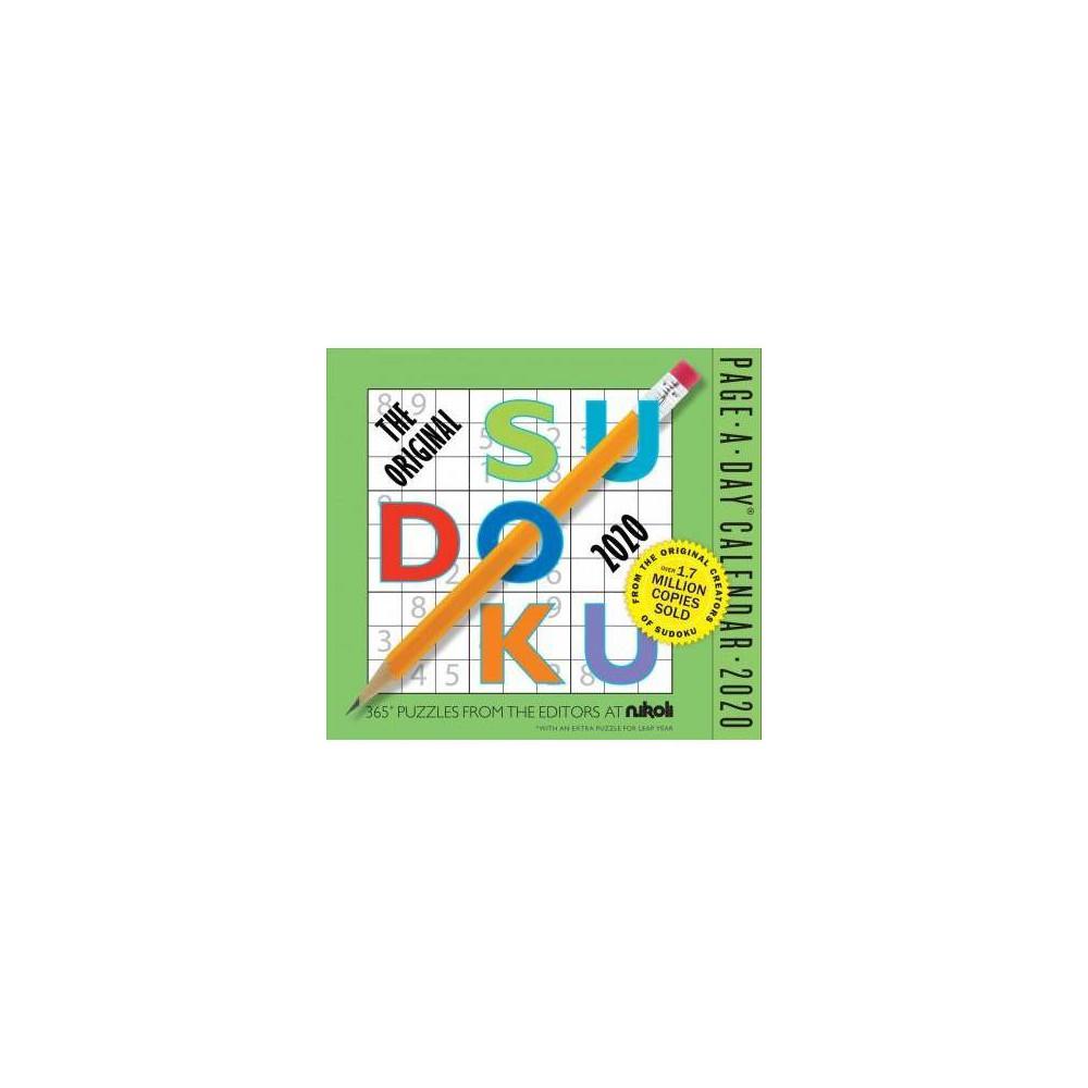 Original Sudoku Calendar 2020 - (Paperback)
