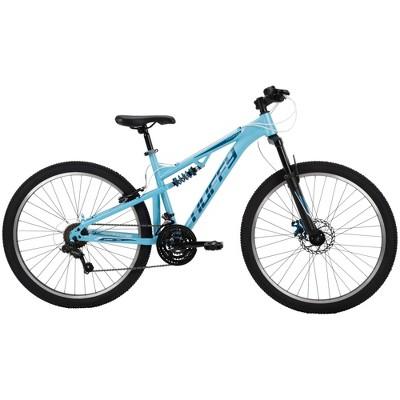 """Huffy Marker Women's Dual Suspension 26"""" Mountain Bike - Sky Blue"""