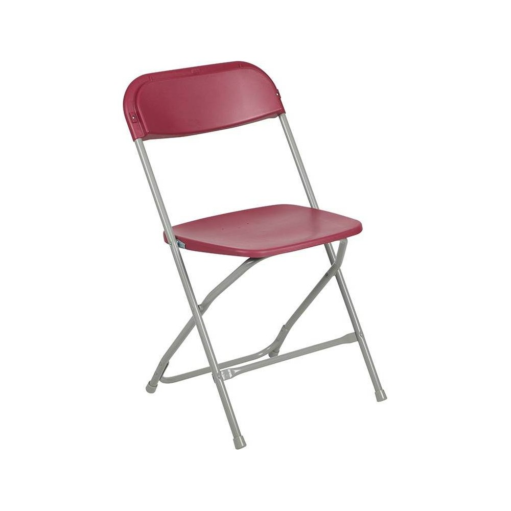 Riverstone Furniture Collection Plastic Folding Chair