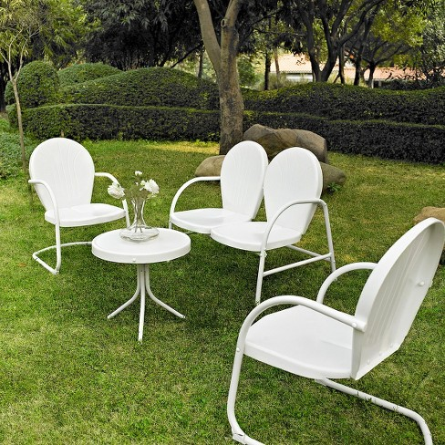 Crosley Griffith 4-Piece Metal Patio Conversation Furniture Set - image 1 of 1