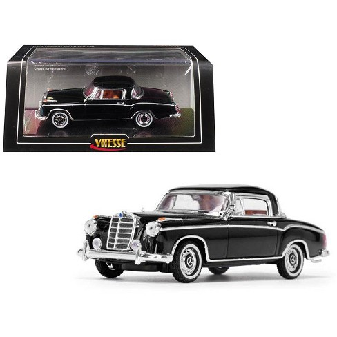 1958 Mercedes Benz 220 SE Coupe Black 1/43 Diecast Model Car by Vitesse - image 1 of 3