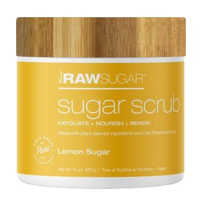 Raw Sugar Sugar Scrub Lemon Sugar - 15oz