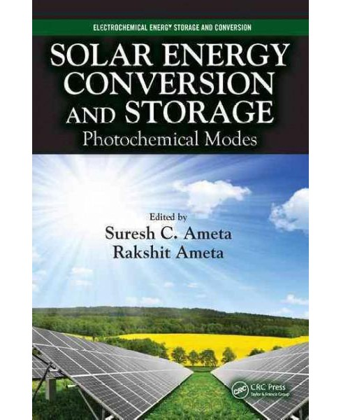 Solar Energy Conversion and Storage : Photochemical Modes (Hardcover) - image 1 of 1