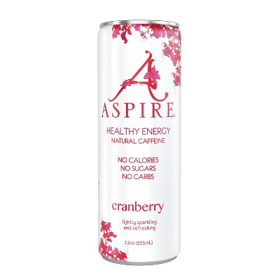 Aspire Cranberry Energy Drink - 12oz Can
