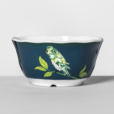 Melamine Bowl 24oz Blue/Green Parrot - Opalhouse™