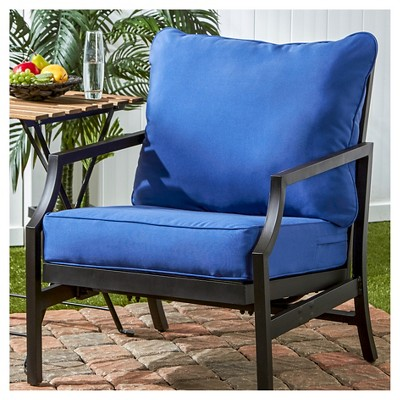 Greendale Home Fashions Outdoor Deep Seat Cushion Set : Target