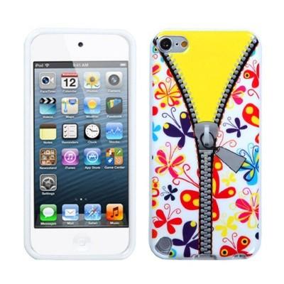 MYBAT For Apple iPod Touch 5th Gen/6th Gen Butterfly Rubber Case