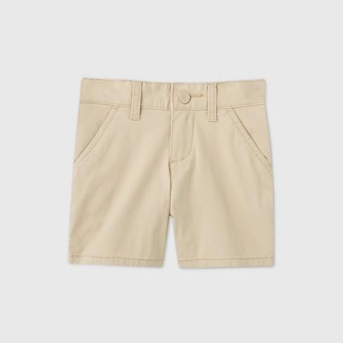 Toddler Girls' Flat Front Stretch Uniform Shorts - Cat & Jack™ - image 1 of 3