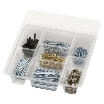 Arrow Utility Screw, Nail, and Tack Kit 500pc.