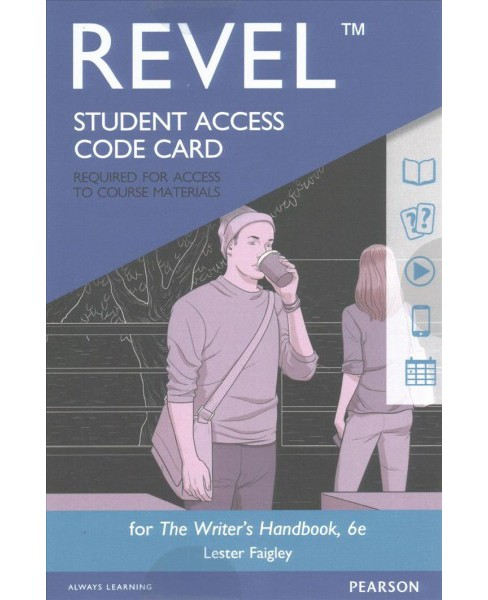 Writer's Handbook Revel Access Code -  (Revel) by Lester Faigley (Hardcover) - image 1 of 1