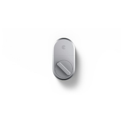 August 3rd Generation Technology Smart Lock - Silver