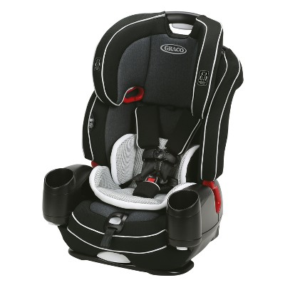 Graco Nautilus SnugLock LX 3-in-1 Harness Booster Car Seat - Arctic