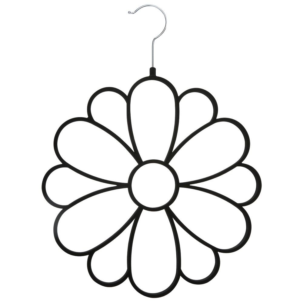Image of Joy Mangano Huggable Hangers Accessory Hanger - Black, White Black