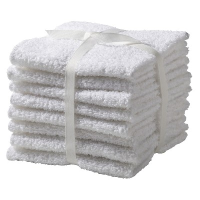 Washcloth Set 8pk True White - Room Essentials™