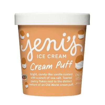 Jeni's Cream Puff Ice Cream - 16oz