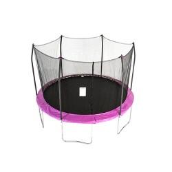Skywalker Trampolines 12' Round Trampoline with Enclosure - Purple