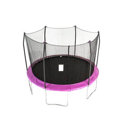 Skywalker Trampolines 12' Round Trampoline with Enclosure - Purple - image 1 of 4