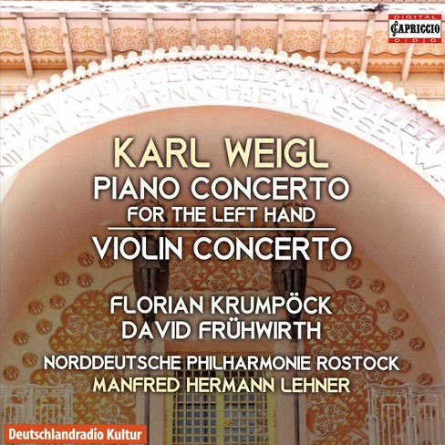 Florian krumpock - Weigl:Piano cto/Violin cto (CD) - image 1 of 1