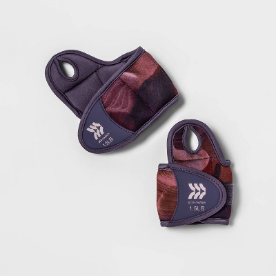 Wrist Weights 1.5lbs 2pc - All in Motion™