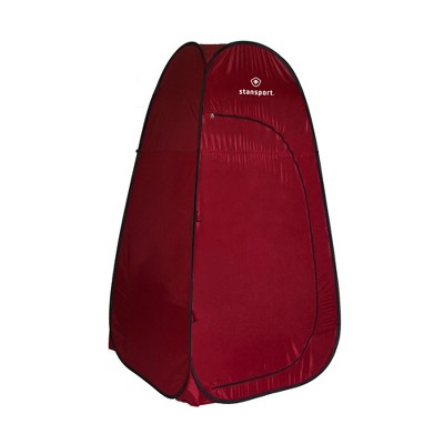 Stansport Pop Up Privacy Shelter Red