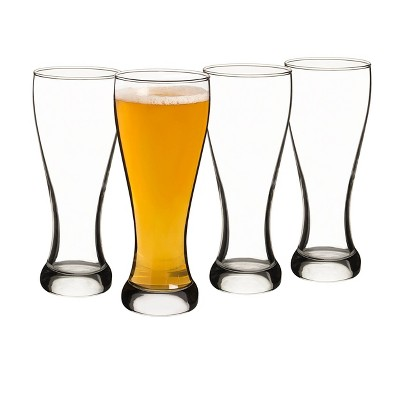 20oz 4pk Glass Pilsner Glasses - Cathy's Concepts