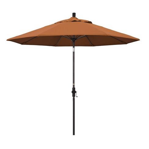 9' Patio Umbrella in Tuscan - California Umbrella - image 1 of 2
