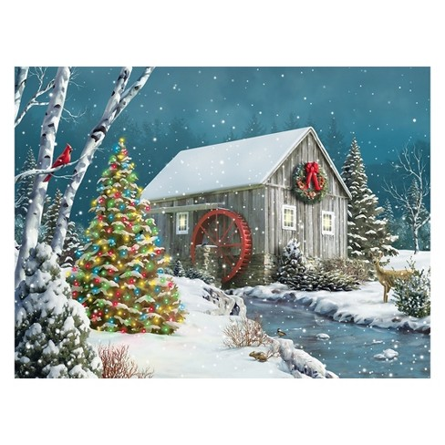 Springbok The Falling Snow Puzzle 500pc - image 1 of 3