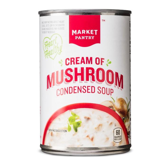 Healthy Cream of Mushroom Condensed Soup 10.5 oz - Market Pantry™ - image 1 of 1