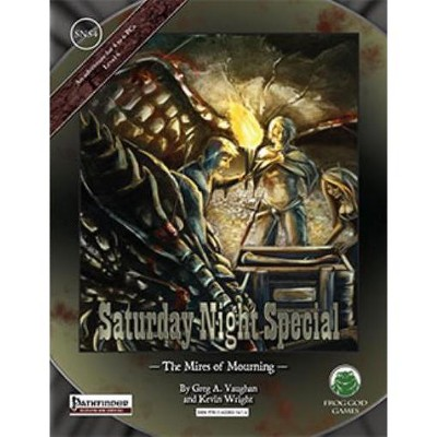 Saturday Night Special #4 - The Mires of Mourning (Pathfinder) Softcover