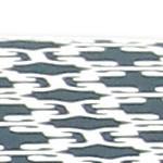 Indigo/White Lattice