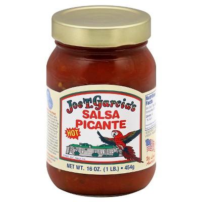 Joe T. Garcia's Hot Salsa Picante - 16oz