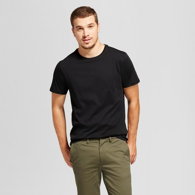 032cfdd46212f Men s Standard Fit Crew T-Shirt – Goodfellow   Co™ Black L – Target ...