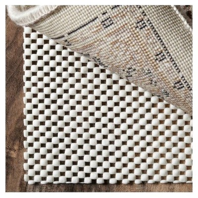 White Solid Loomed Area Rug 2'x4' - nuLOOM