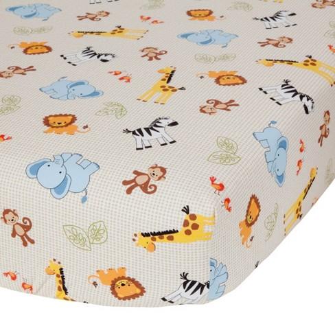 ee84d8683760 Bedtime Originals Jungle Buddies Sheet   Target