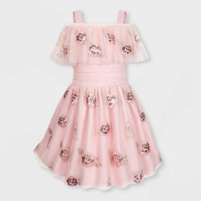Girls' Disney Belle Fancy Dress - Pink - Disney Store
