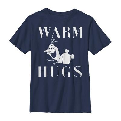 Boy's Frozen 2 Olaf Warm Hugs T-Shirt