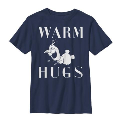 Boy's Frozen 2 Olaf Warm Hugs T-Shirt - image 1 of 1