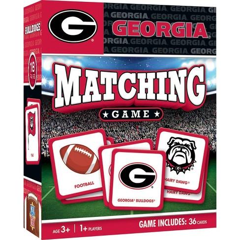NCAA Georgia Bulldogs Matching Game - image 1 of 2