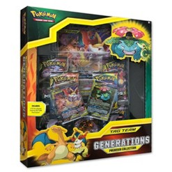 2019 Pokemon Trading Card Game Tag Team Generations Premium Collection Box