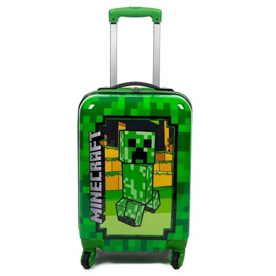 Minecraft Kids' ABS Creeper Suitcase