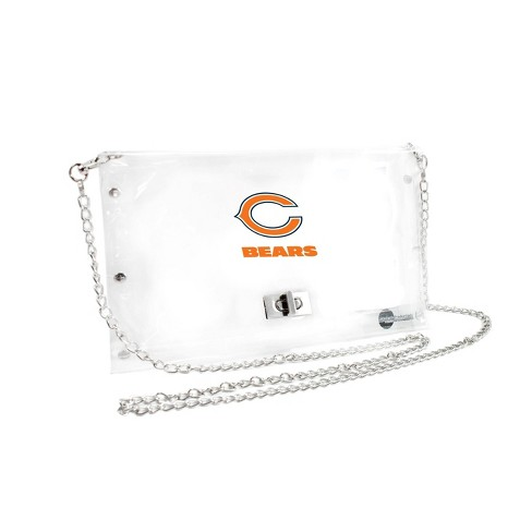 NFL Chicago Bears Clear Envelope Purse - image 1 of 1