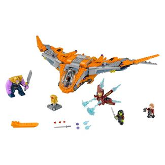 LEGO Super Heroes Marvel Avengers Movie Thanos: Ultimate Battle 76107