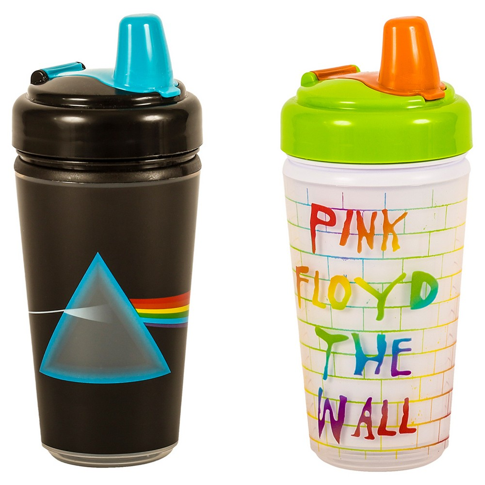 Daphyl's Pink Floyd sippy cup 2 pack, Multi-Colored