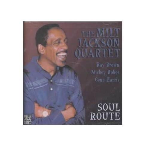 Milt Quartet Jackson - Soul Route (CD) - image 1 of 1