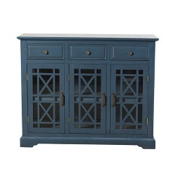 Archer Ridge Sideboard Dark Blue - StyleCraft