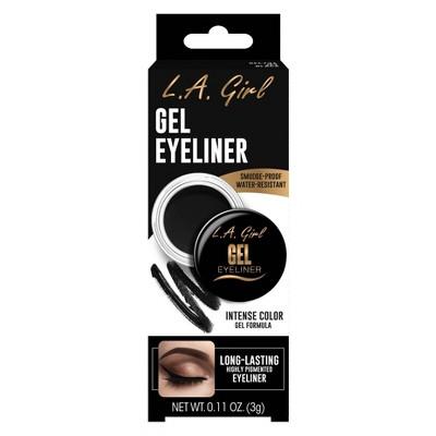 L.A. Girl Gel Eyeliner - Jet Black - 0.11oz