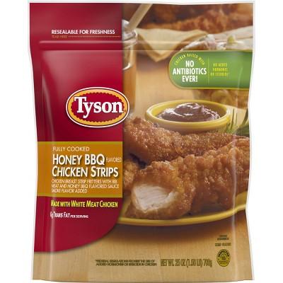 Tyson Honey BBQ Chicken Strips - Frozen - 25oz